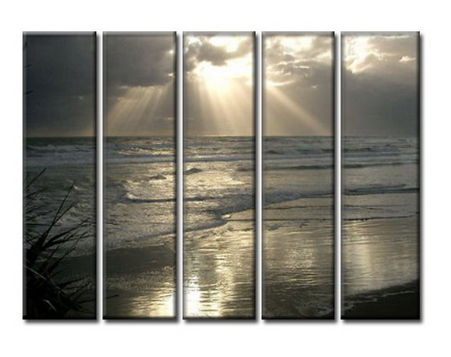 Modern Oil Paintings on canvas seascape painting -set08022