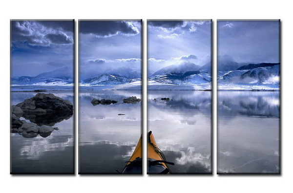 Modern Oil Paintings on canvas seascape painting -set08025