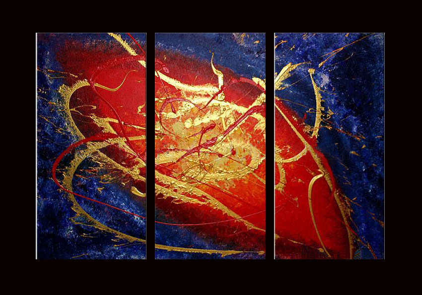 Modern Oil Paintings on canvas abstract painting -set08071