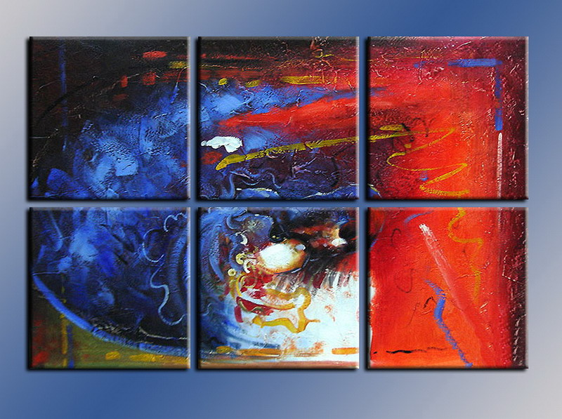 Modern Oil Paintings on canvas abstract painting -set08095