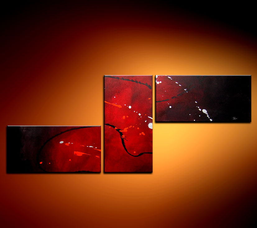 Modern Oil Paintings on canvas abstract painting -set08110