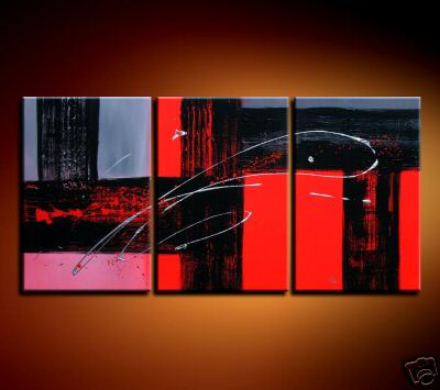 Modern Oil Paintings on canvas abstract painting -set08126