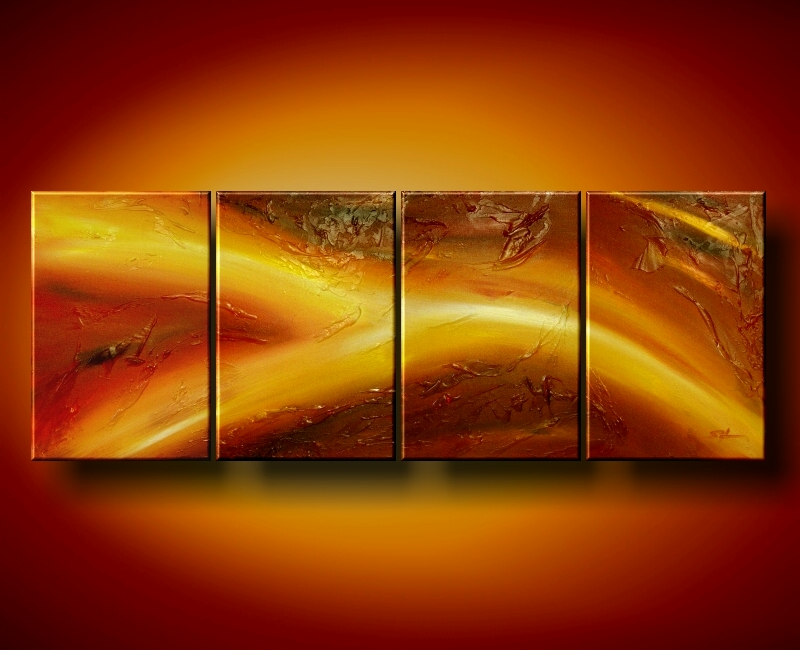 Modern Oil Paintings on canvas abstract painting -set08127