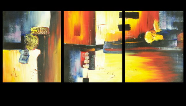 Modern Oil Paintings on canvas abstract painting -set08140