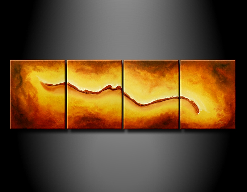Modern Oil Paintings on canvas abstract painting -set08179