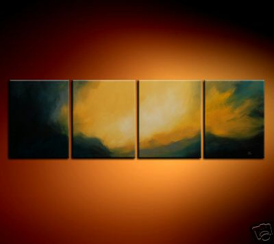 Modern Oil Paintings on canvas abstract painting -set08186