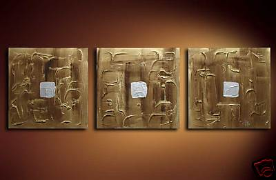 Modern Oil Paintings on canvas abstract painting -set08188
