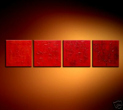 Modern Oil Paintings on canvas abstract painting -set08218