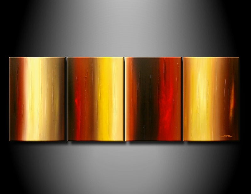 Modern Oil Paintings on canvas abstract painting -set08220