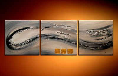 Modern Oil Paintings on canvas abstract painting -set09002
