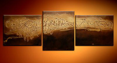 Modern Oil Paintings on canvas abstract painting -set09005