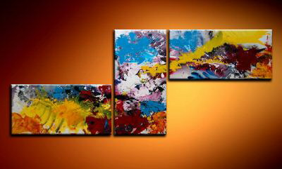 Modern Oil Paintings on canvas abstract painting -set09010