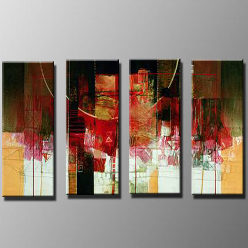 Modern Oil Paintings on canvas abstract painting -set09034
