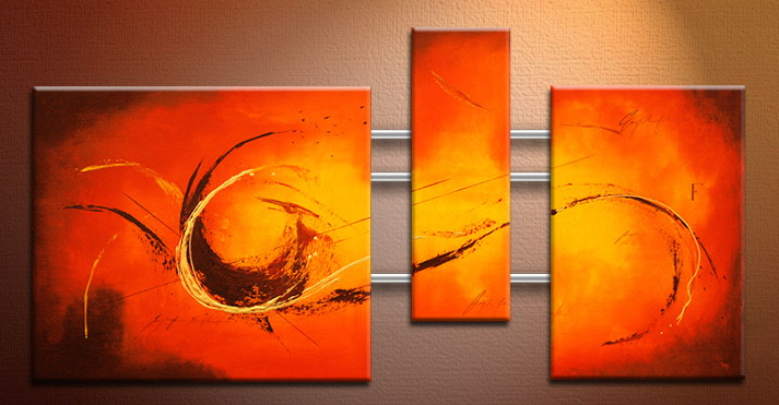 Modern Oil Paintings on canvas abstract painting -set09089