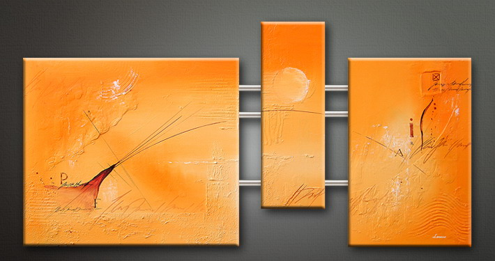 Modern Oil Paintings on canvas abstract painting -set09092