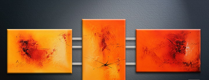 Modern Oil Paintings on canvas abstract painting -set09095