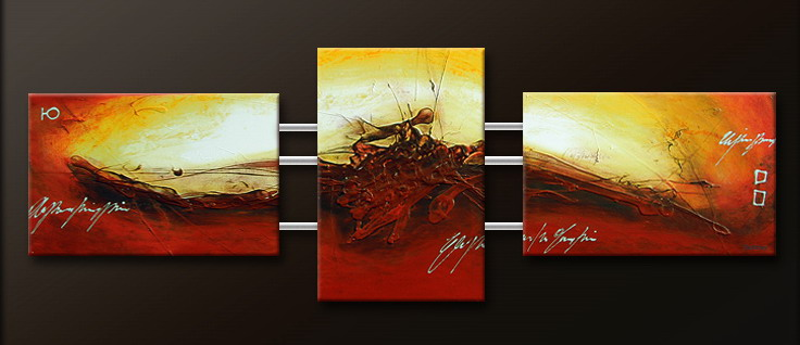 Modern Oil Paintings on canvas abstract painting -set09164