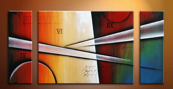 Modern Oil Paintings on canvas abstract painting -set09168