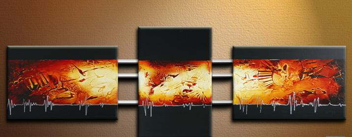 Modern Oil Paintings on canvas abstract painting -set09170