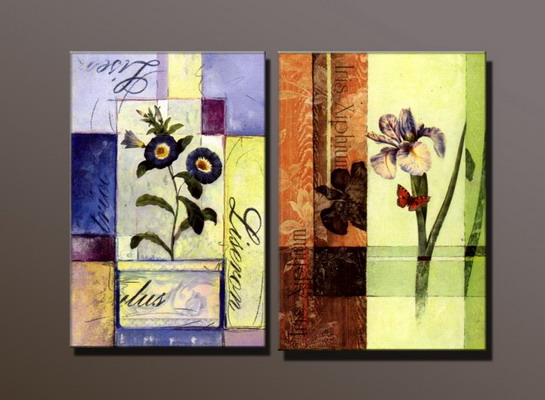 Modern Oil Paintings on canvas abstract painting -set10002
