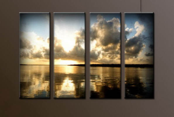 Modern Oil Paintings on canvas seascape painting -set10038
