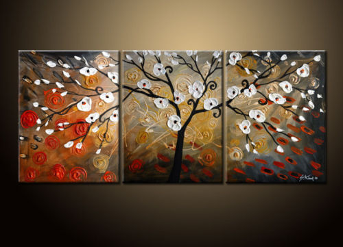 Modern Oil Paintings on canvas abstract painting -set12013