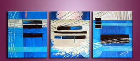 Modern Oil Paintings on canvas abstract painting -set12020