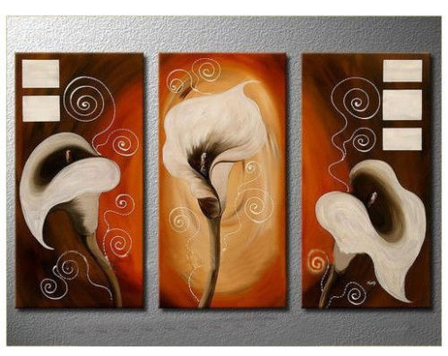 Modern Oil Paintings on canvas abstract painting -set12023