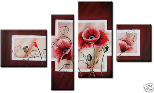 Modern Oil Paintings on canvas abstract painting -set12036