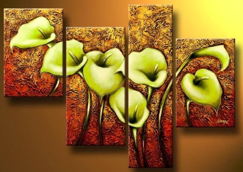 Modern Oil Paintings on canvas abstract painting -set12039