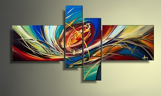 Modern Oil Paintings on canvas abstract painting -set12051