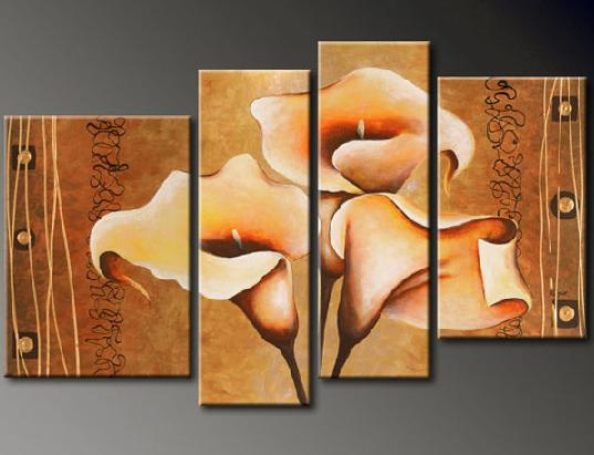 Modern Oil Paintings on canvas abstract painting -set12055