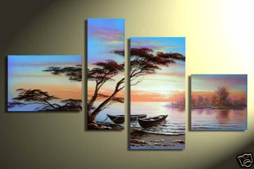 Modern Oil Paintings on canvas abstract painting -set12059