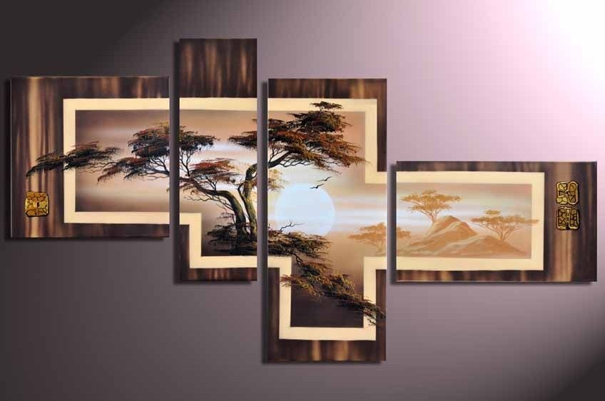 Modern Oil Paintings on canvas abstract painting -set12063