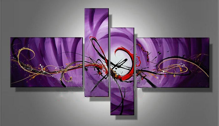 Modern Oil Paintings on canvas abstract painting -set12069