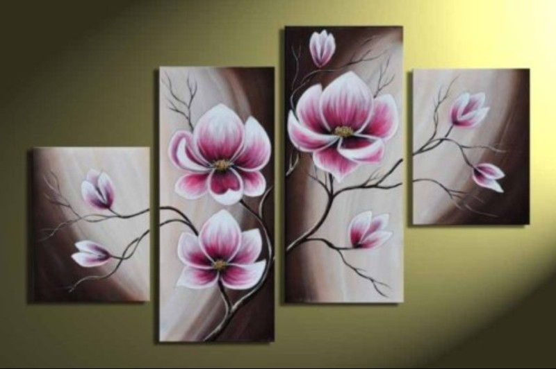 Modern Oil Paintings on canvas abstract painting -set12070