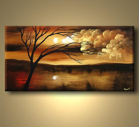 Modern Oil Paintings on canvas abstract painting -set12200