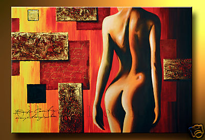 Modern Oil Paintings on canvas abstract painting -set12201