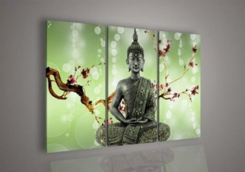 Contemporary zen art Buddha oil painting Buddha001