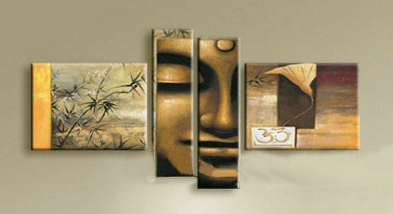 Contemporary zen art Buddha oil painting Buddha003