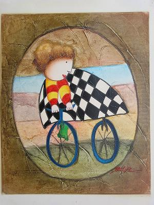 Dafen Oil Painting on canvas -child55