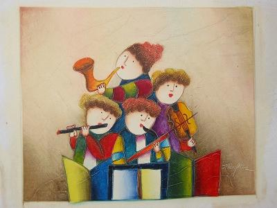 Dafen Oil Painting on canvas -child59