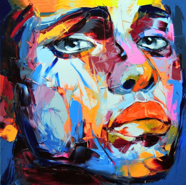 Francoise Nielly Palette Impression Portrait Painting Face001
