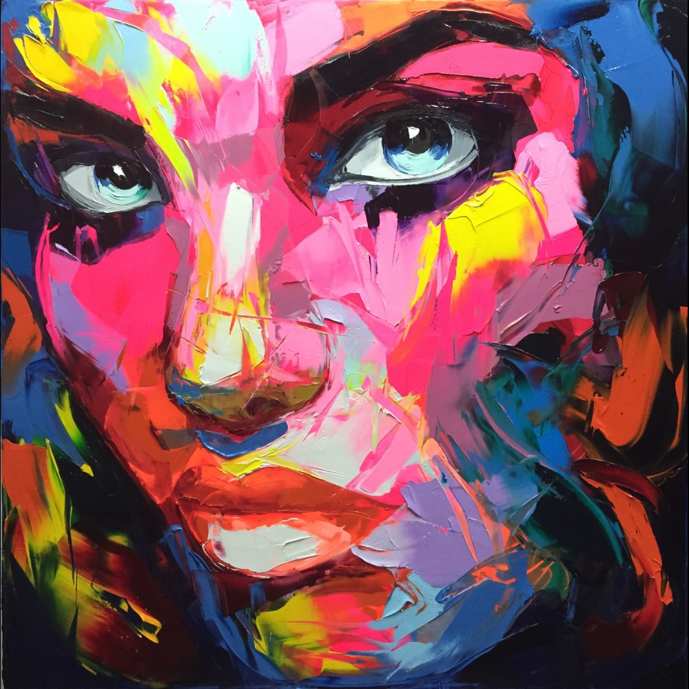 Francoise Nielly Palette Impression Portrait Painting Face008