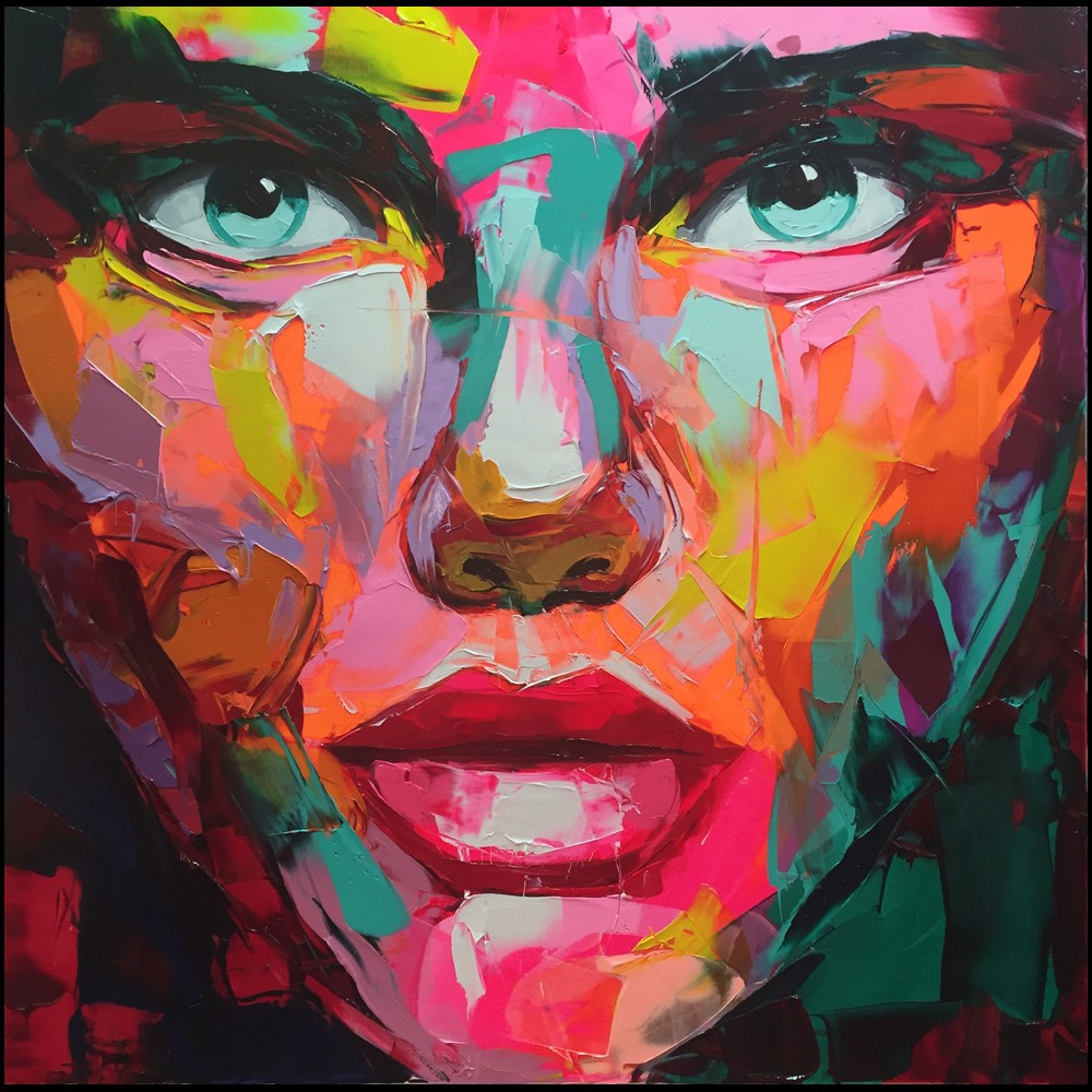 Francoise Nielly Palette Impression Portrait Painting Face009