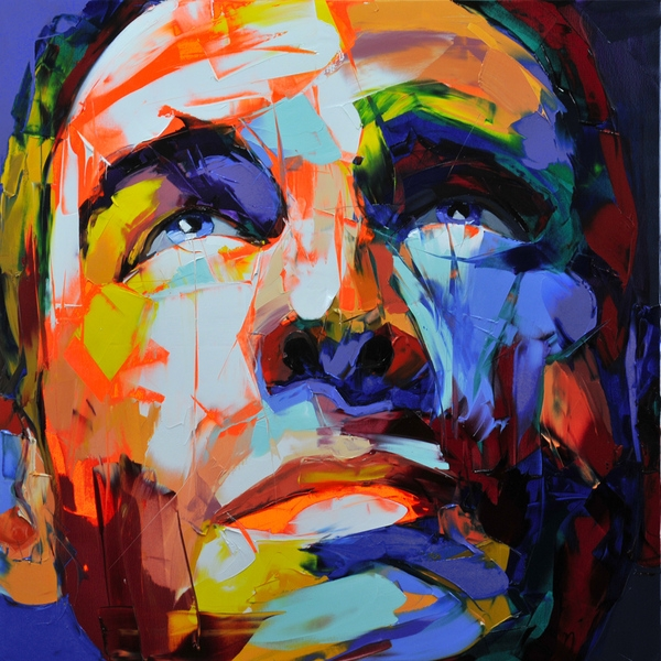 Francoise Nielly Palette Impression Portrait Painting Face051