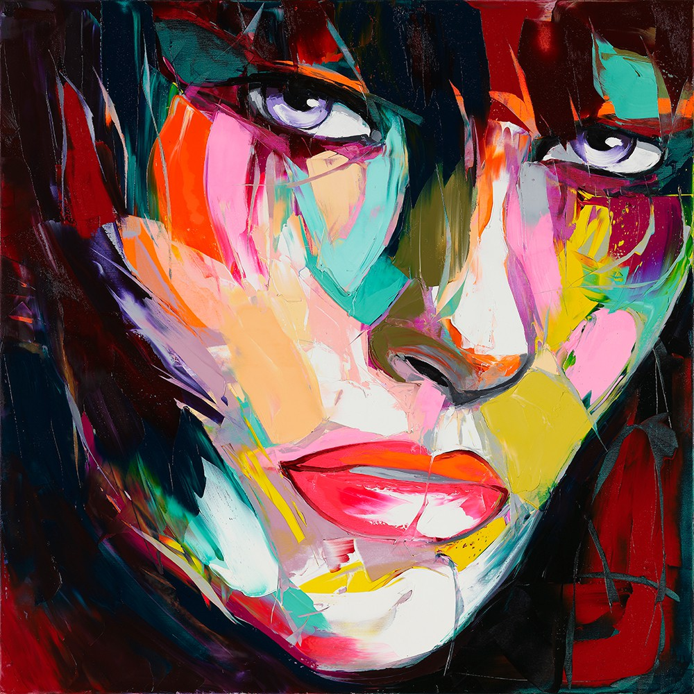 Francoise Nielly Palette Impression Portrait Painting Face052