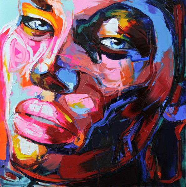 Francoise Nielly Palette Impression Portrait Painting Face053