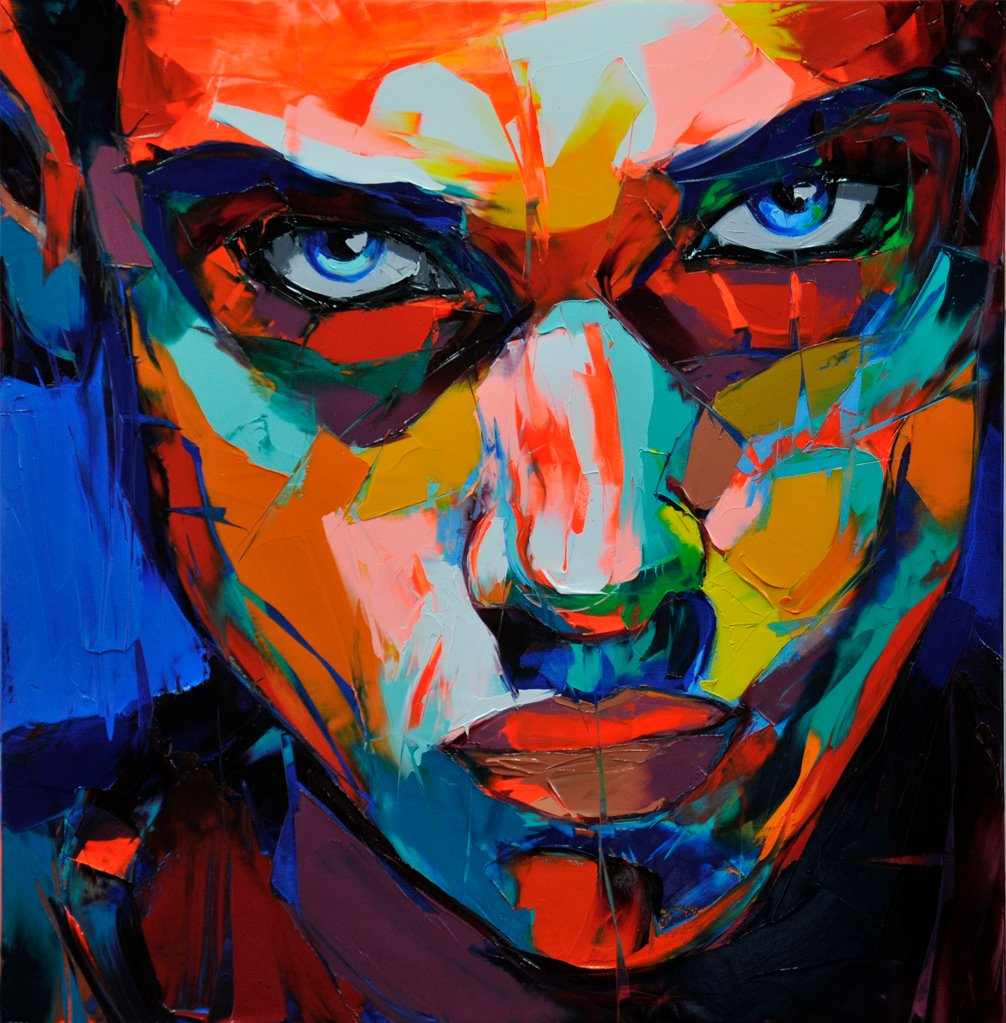 Francoise Nielly Palette Impression Portrait Painting Face054