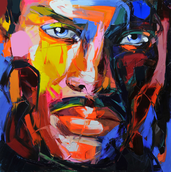 Francoise Nielly Palette Impression Portrait Painting Face056